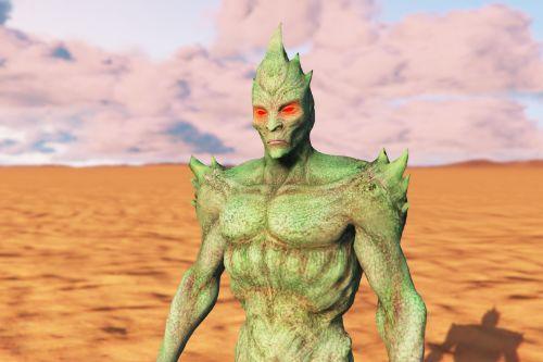 Injustice Martian Manhunter (Martian Form) [Add-On Ped]