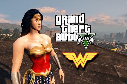 Injustice - Wonder Woman - Retexture