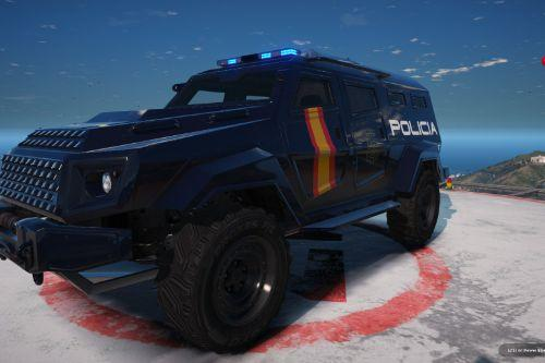 Insurgent Policia Nacional/CNP of Spain/España[FiveM-ADD-ON-Replace]