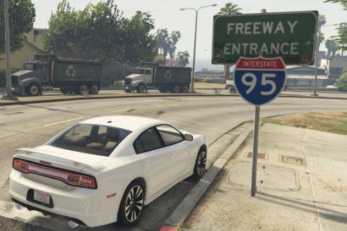 Interstate 95 Signs