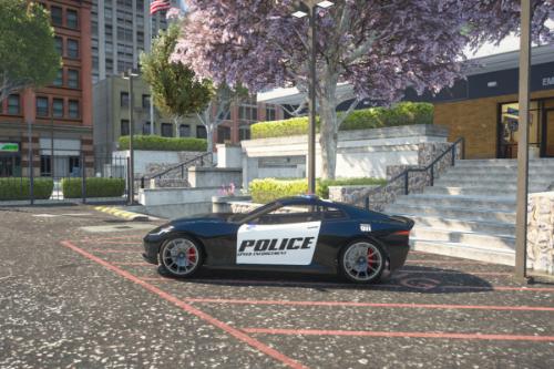Invetero Coquette Police SE [Add-On | SP & FiveM]