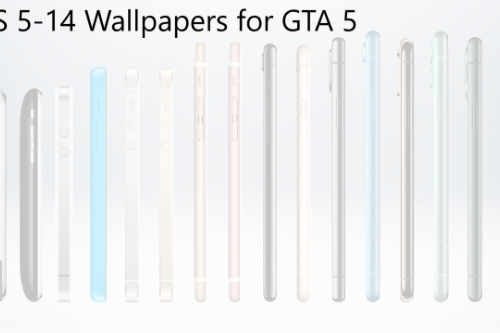IOS 5-14 Wallpapers for GTA 5 (Michael)