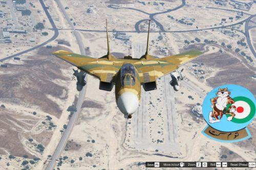 Iranian Air Force F-14A (IRIAF) skin