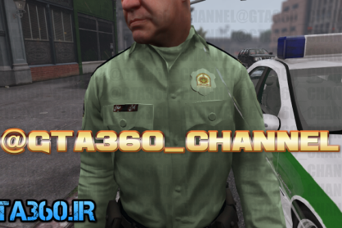 iranian police (naja) skin for gta v