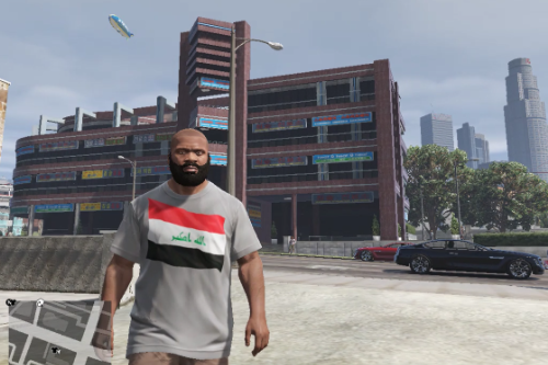 Iraqi Flag Shirt