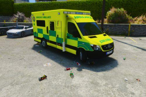 Irish Ambulance - Mercedes Sprinter Skin