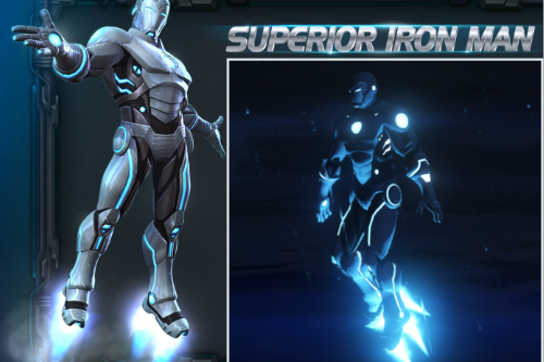 Iron Man EG - Armors Configurations Pack