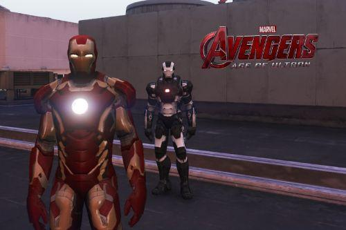 Iron Man Mark 43 (Avengers Age of Ultron) [Add-On Ped]