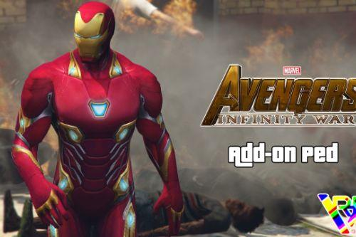 Iron Man MK 50 (Infinity War) [Add-On Ped]