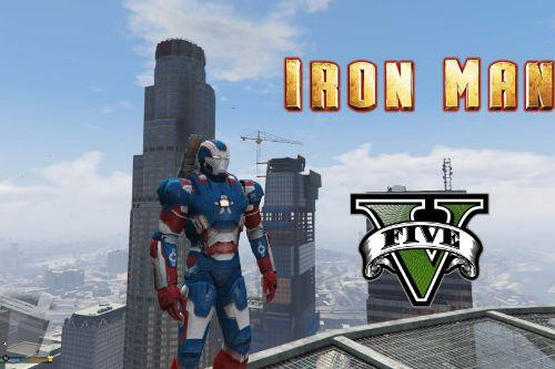 Iron Man Patriot [Add-On Ped]