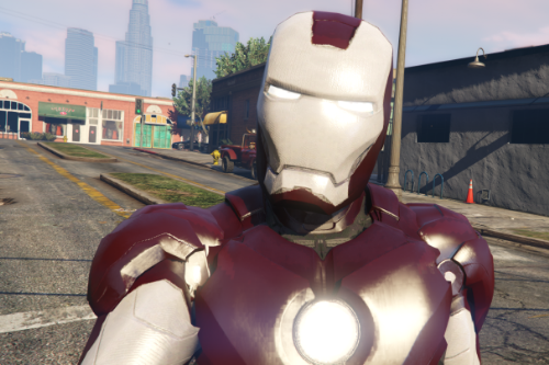 Iron Man Red And White (Iron Man MK4 by JR59 Retexture)