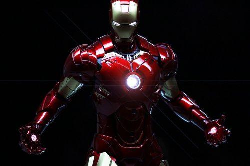 Dc786b iron man suit