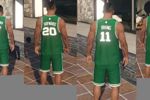 Boston Celtics NBA Jerseys, Shorts, Hoodie, T-shirts, and Hat