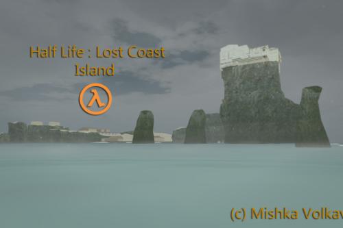 Island from Half Life: Lost Coast