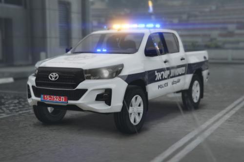 Israel 2019 Toyota Hilux | Skin