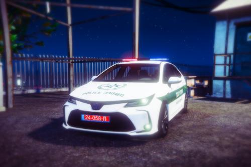 "Israel border Patrol | Toyota Corolla 2020 | ניידת מג""ב"