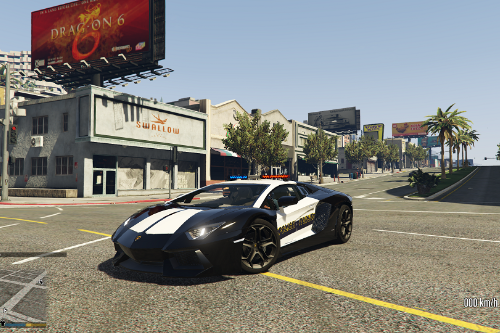 Israel Police Lamborghini Aventador - شرطة اسرائيلية