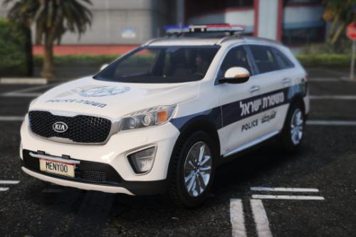 Israel police | 2017 Kia sorento |