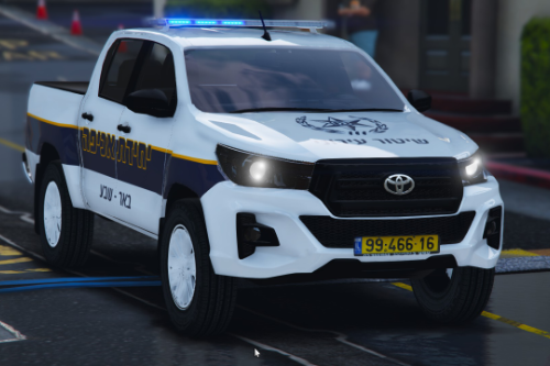 Israel police 2019 toyota hilux | Municipal Enforcement Unit | טויוטה הילוקס אכיפה עירונית