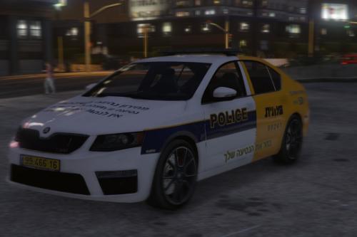 Israel police/taxi skoda octavia | ניידת/מונית ישראלית
