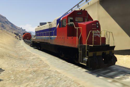 Israel Railways Freight Train