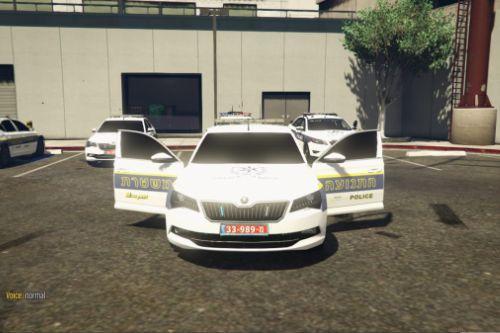 skoda Superb police | ניידת סקודה משטרת ישראל