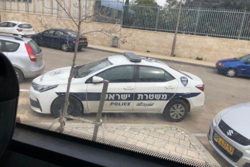 Israel police toyota corolla 2017 | משטרת ישראל טויוטה קורולה