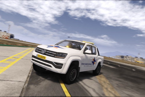 Israel Airports Authority Vehicle