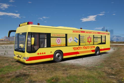 Israeli Ambulance | Bus | FiveM | ELS