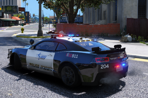 Chevrolet Camaro | Israeli Police Paintjob
