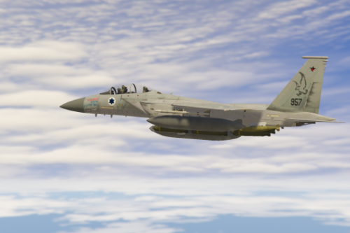 "Israeli F-15D ""Improved Baz"" Livery"