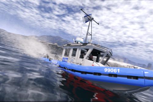 Israeli Marine Police Boat
