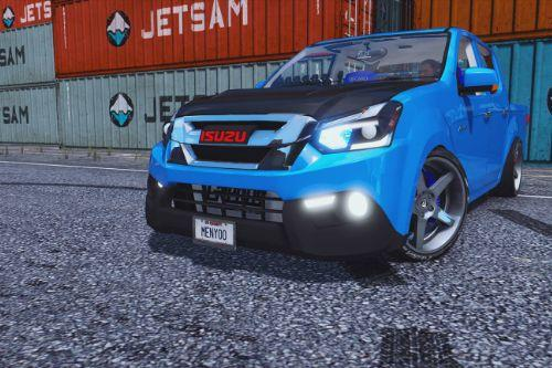Isuzu D-MAX Blue Power 1.9 2016 [Add-On | Template]
