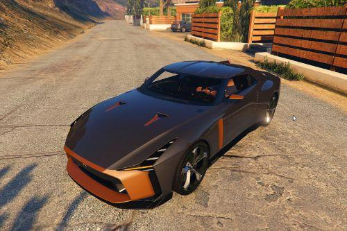 Italdesign Nissan GT-R50 2020 [Add-On / Replace]