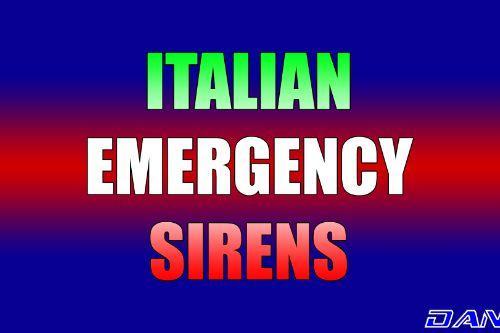 Italian Emergency Sirens - Sirene d'emergenza italiane