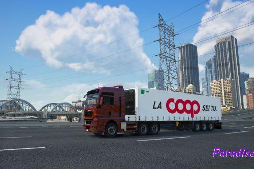 Italian truck trailers pack
