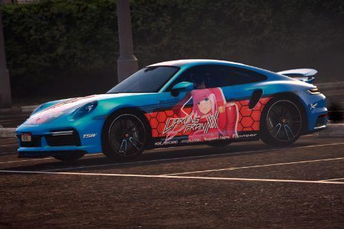 [Itasha] 2021 Porsche 911 Turbo S - Darling in the franxx