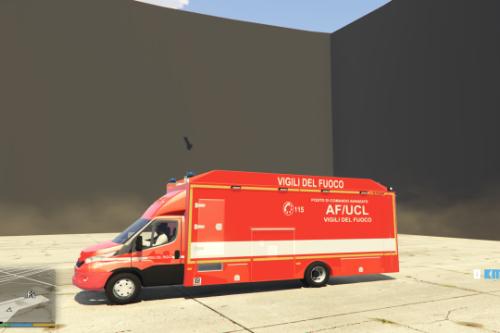 iveco daily vigili del fuoco af ucl con 2018 Paintjob