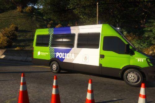 Iveco Daily de la Policía Bonaerense Argentina