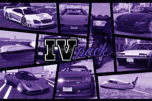 IVPack - GTA IV vehicles in GTA V