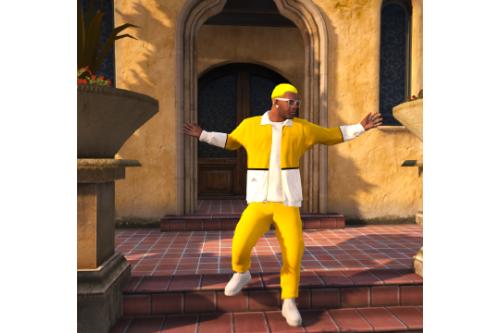 J Balvin Amarillo Yellow Outfit