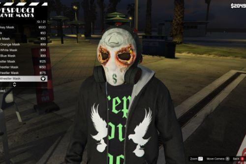 J-Dog NFTU Mask (From Hollywood Undead)