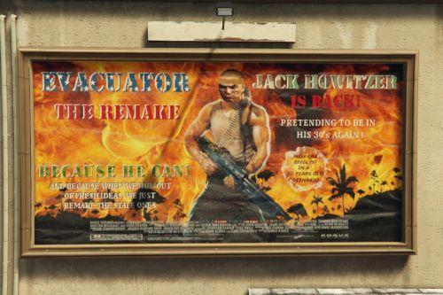 Jack Howitzer's New Movie Poster