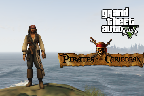 Captain Jack Sparrow [Add-On Ped]