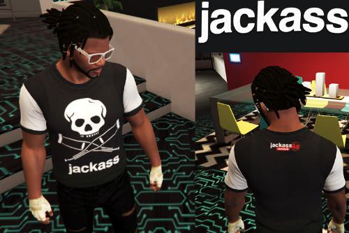[ jackass ] T-Shirt For Franklin