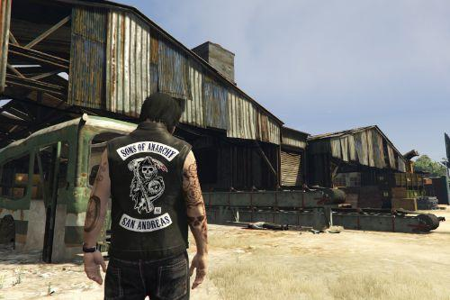 "Jacket biker ""Sons Of Anarchy San Andreas"" [SP / FiveM] (Replace)"