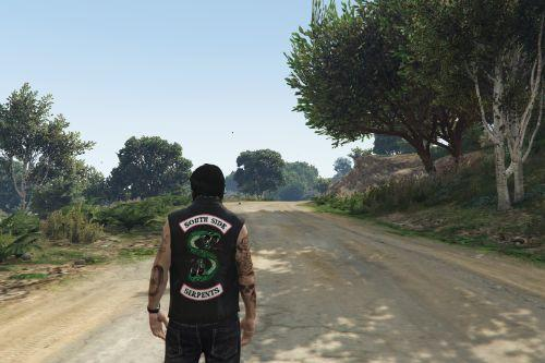 "Jacket biker ""South Side serpents"" and ""North Side Serpents"" (Riverdale) [SP / FiveM]"