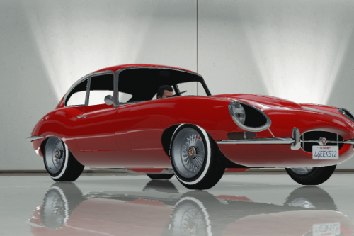 Jaguar E-Type Stock [Add-on/Replace]