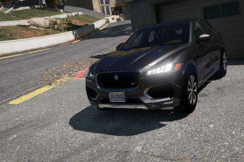 Jaguar F-Pace S 2017 [Add-On / Replace]