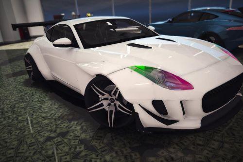 Jaguar F Type L3d store edition [Replace]
